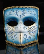 Men's Theater Venetian Bauta Masquerade Mask