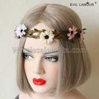 Simple Bohemia Flowers Headband Masquerade Accessories
