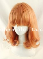 Fashion Short Hair Curly Wig for Girls