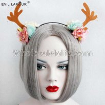 Christmas Antlers Headband Masquerade Accessories