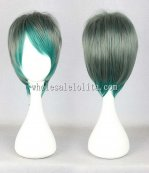Harajuku Green Gradient Lolita WigsJapanese Harajuku Short Hair For Men
