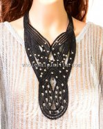 Black Gothic Lace Necklace Party Necklace