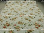 High-End 100% Silk Floral Jacquard Fabric