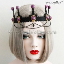 Baroque palace Rose Headband Masquerade Accessories