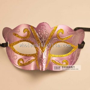 Cosplay Budget Glitter Half Face Carnival Masquerade Mask