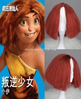 THE CROODS Eep Cosplay Wig Halloween Costume Party Wig