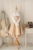 Versailles Champagne Vintage Gothic Style Dress