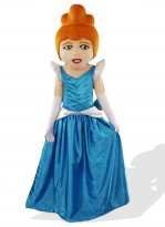 Beautiful Cinderella Mascot Costume