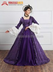 Victorian Gothic Dress Gown Vampire Reenactment Halloween Costume Victorian Gowns Sale