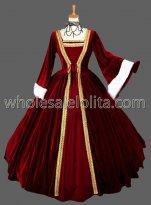 European Court 17 18th Century Golden Marie Antoinette Era Rococo Style Ball Gown Cosplay Costume