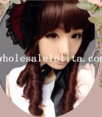Fashion Girl Lolita Hotsale Cosplay Curly Full Hair Wig