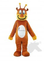 Orange Plush Adult Monster And Fantasy Costume