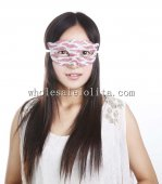 Hot Sale Half Face Masquerade Masks Cross Color Venetian Masks