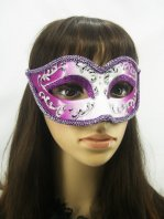 Charming Shining Purple Cosplay Costume Party Mask