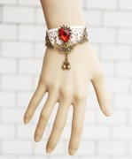 Gothic Beautiful Cherry Lolita Bracelet
