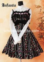 Candy Fruit Frinting Corduroy Classic JSK Lolita Dress