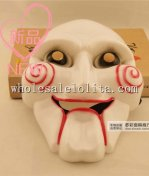 Scary Full Face Cartoon Clown Masquerade Mask for Halloween and Cosplay