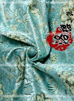 LY Lotus Brocade Fabric