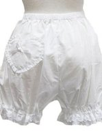 Two Layer Lace Lolita Bloomers with Stain Bow