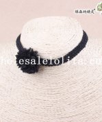 Hotsale Collar Choker Black Lace Necklace for Women