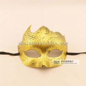 Men's Vintage Venetian Halloween Cosplay Masquerade Mask