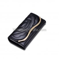 Long Clutch Phone Famous Designer Lady Female Wallet Women Luxury Brand Purse Carteras Portomonee Walet Money Bag Cuzdan Vallet Black