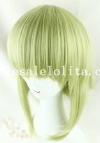 Fashion Girl Cosplay Straight Hair Green Wig