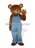 Adult Brown Plush Teddy Bear Mascot Costume
