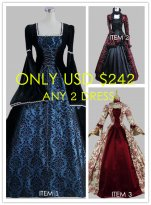 Combination Big Sale!! Any 2 Dresses $242