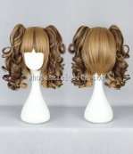 New Japanese Harajuku Lolita Wigs Dual horsetail Hair For Ladies