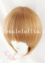 Hotsale Cosplay Anime Short Straight Heat Resistant BOBO Wig