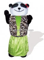 Custom Panda Plush Adult Mascot Costume