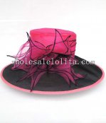 2014 Summer Big Brim Ladies Organza British Kentucky Derby Hat