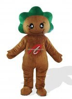 Greenery Chrysanthemum Plush Adult Monster And Fantasy Costume