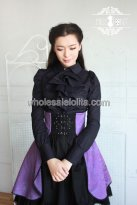 New Purple and Black Gothic Lolita Dress
