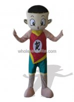 Chinese Boy Plush Mascot Costume