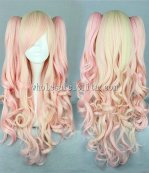 Japanese Harajuku Cosplay Lolita Wig Double Tail Tapered Wig