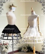 Ruffled Elastic Waist Skirt Costume Accessories