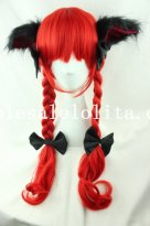 Hotsale Cosplay Anime Cosplay Long Hair Wig with Braids