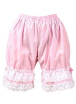 Lovely and Sweet Pink Cotton Lace Lolita Bloomers