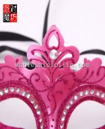 Glitter Cosplay and Parties Venetian Masquerade Mask with Diamond