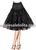 3 Layers No Hoop Lolita Petticoat 5 Colors