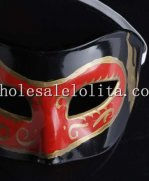 Double Color Half Face Masquerade Mask Cosplay and Parties