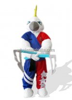 Muscle Parrot Costume for Adult