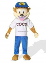 Adult Coco Monkey Mascot Costume