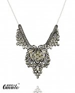 Luxury Gothic Black Lace Star Pendant Necklace