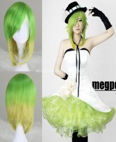 Anime VOCALOID GUMI Cosplay Wig