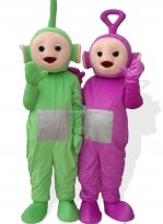 Adult Size Green Teletubbies Mascot Costume