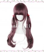 Japan Harajuku Crimson Cosplay Long Curly Lolita Wig
