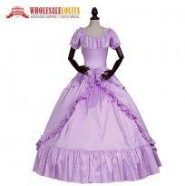 Victorian Dress Southern Belle Masquerade Period Gown Princess Cosplay Halloween Costume